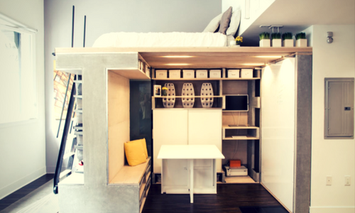 Appliances and Rooms that Fold up