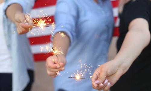 July sparkles